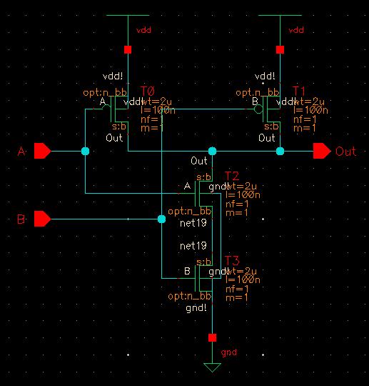 EE4321-VLSI CIRCUITS : Cadence' Virtuoso Ultrasim vector